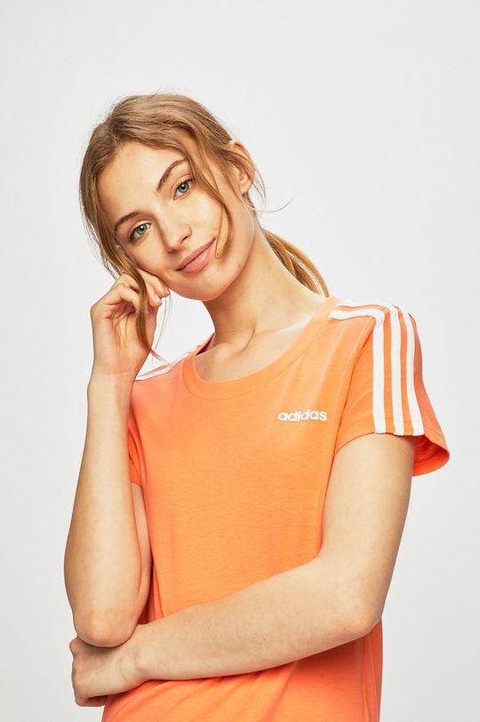 narancssárga adidas - Top