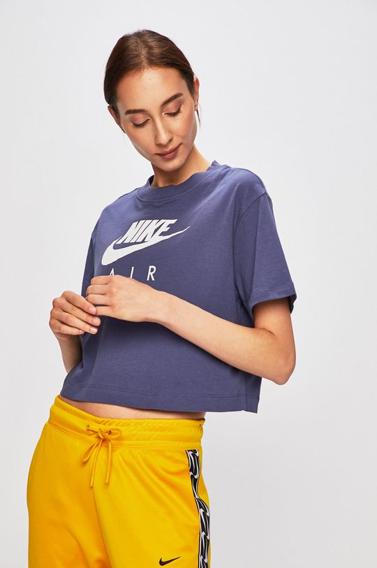 fialová Nike Sportswear - Tričko Dámský
