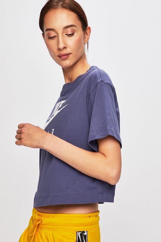 fialová Nike Sportswear - Tričko