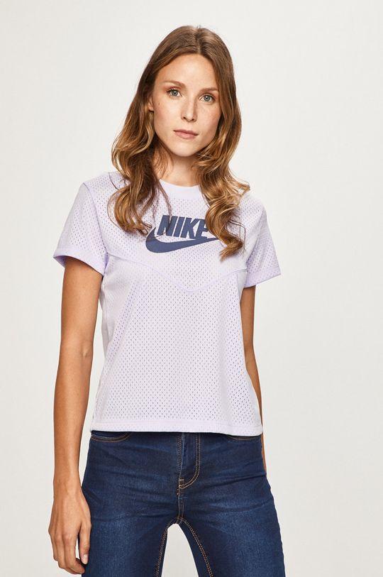 levandulová Nike Sportswear - Tričko Dámský