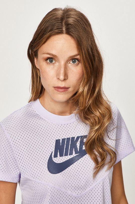 levandulová Nike Sportswear - Tričko