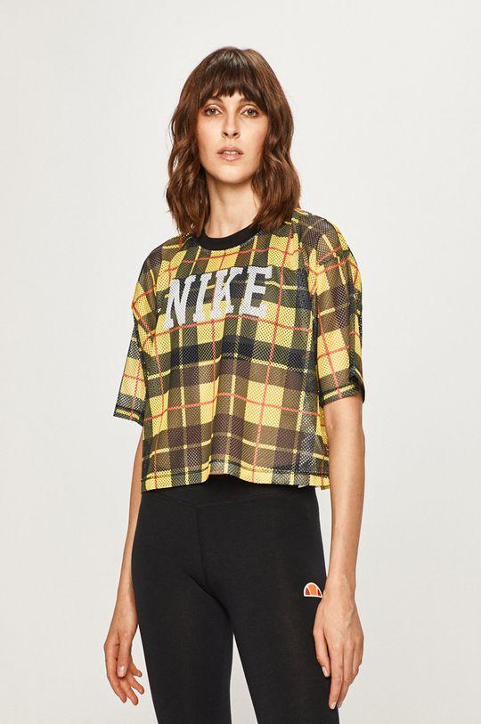 žlutá Nike Sportswear - Tričko Dámský