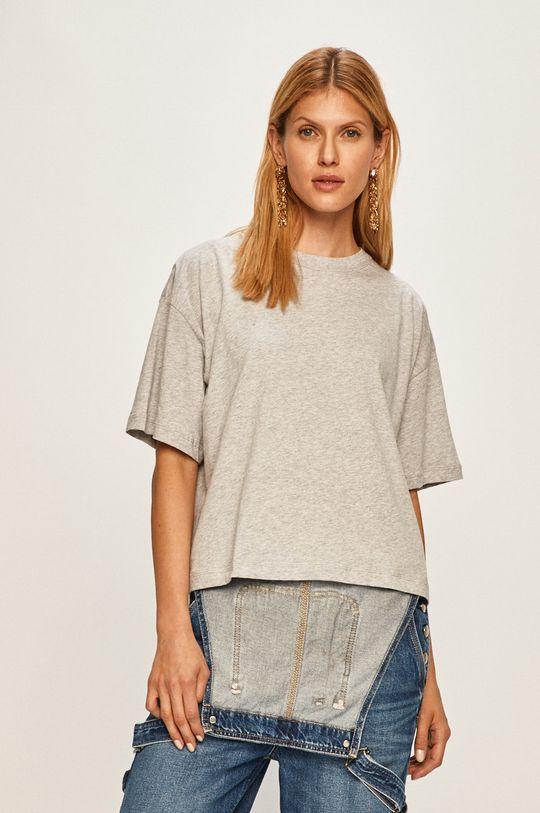 jasny szary Pepe Jeans - T-shirt Mimi x Dua Lipa Damski