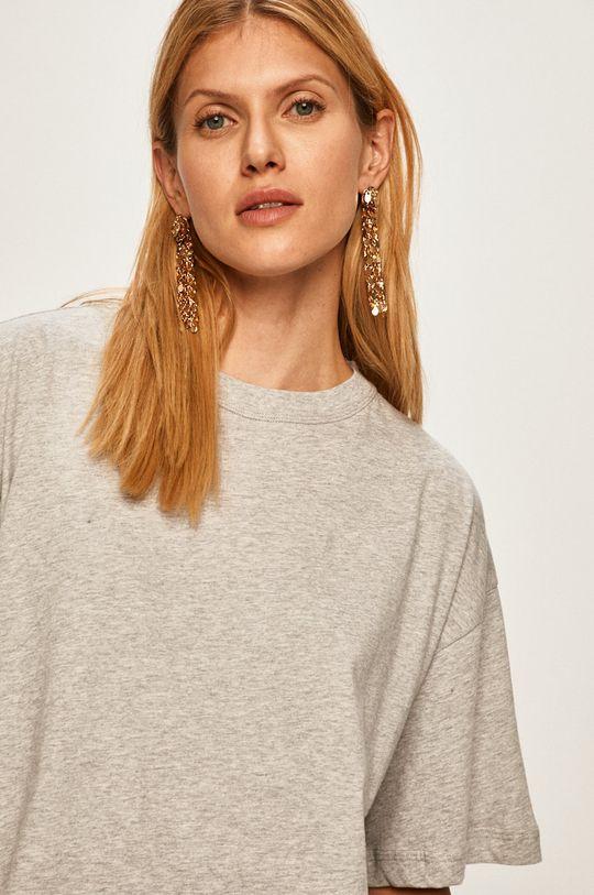 jasny szary Pepe Jeans - T-shirt Mimi x Dua Lipa