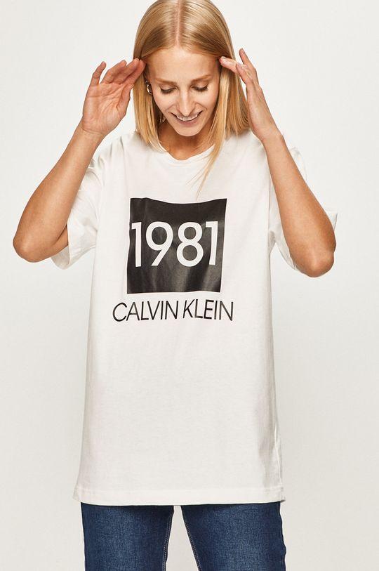 alb Calvin Klein Underwear - Tricou De femei