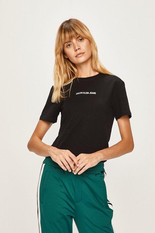černá Calvin Klein Jeans - Tričko Dámský