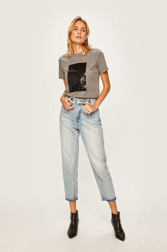 Calvin Klein Jeans - Tricou gri