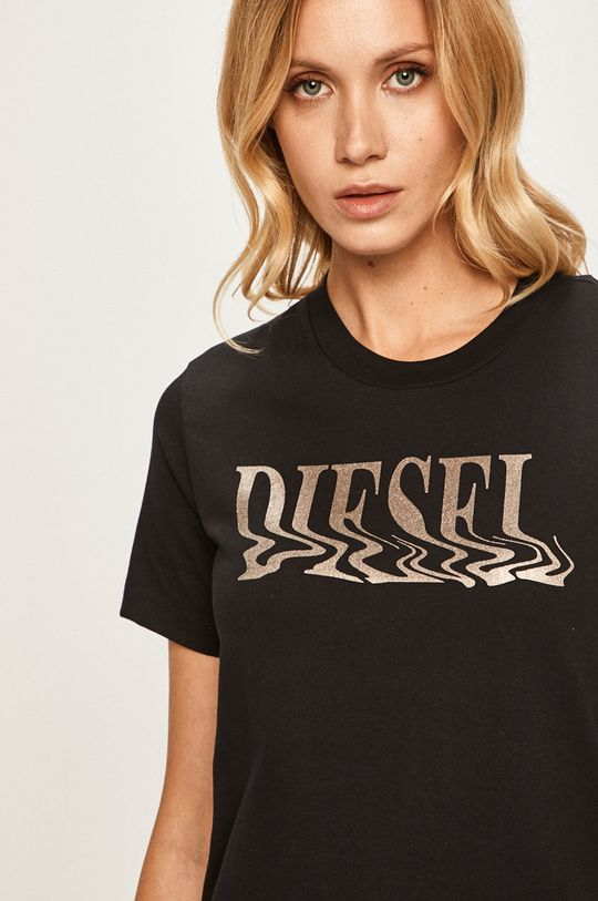 černá Diesel - Tričko Dámský