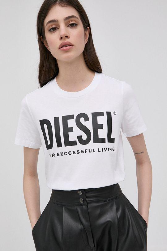 bílá Diesel - Tričko Dámský
