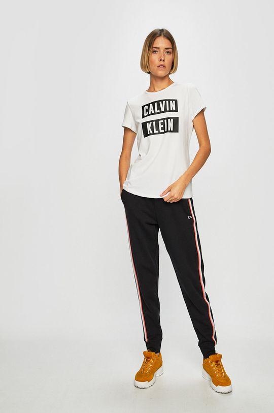 Calvin Klein Performance - Top bílá