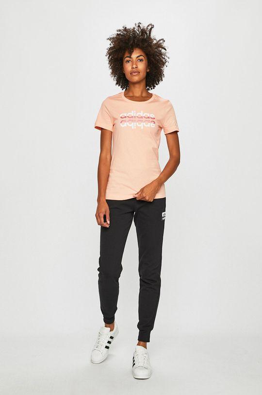 adidas - T-shirt narancssárga