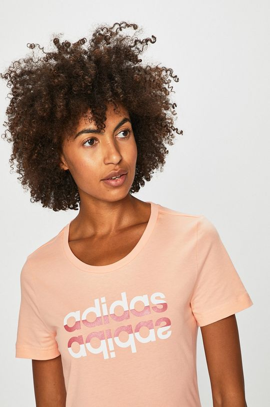 narancssárga adidas - T-shirt