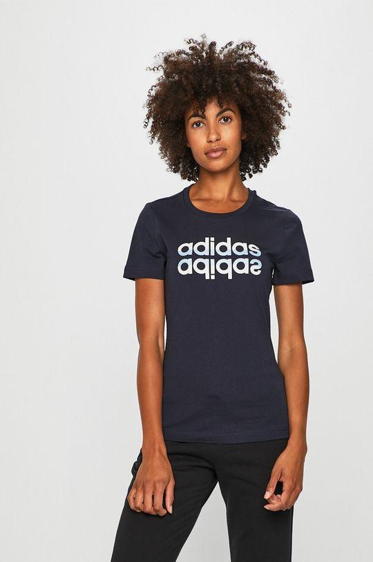 sötétkék adidas - T-shirt Női