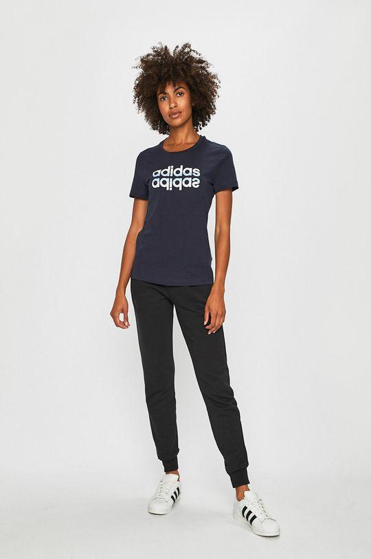 adidas - T-shirt sötétkék