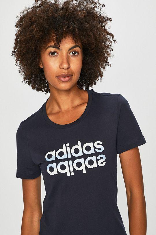 sötétkék adidas - T-shirt