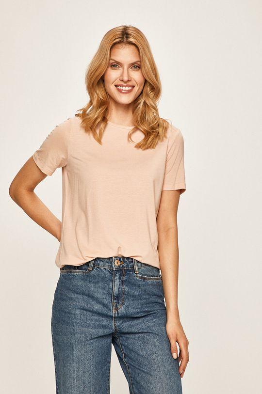 brudny róż Vero Moda - T-shirt Damski