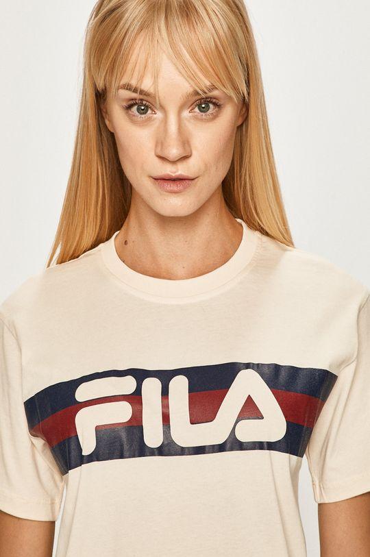 kremowy Fila - T-shirt