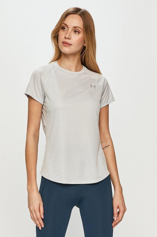 jasny szary Under Armour - T-shirt/polo 1326462 Damski