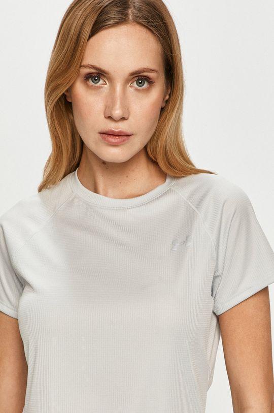 jasny szary Under Armour - T-shirt/polo 1326462