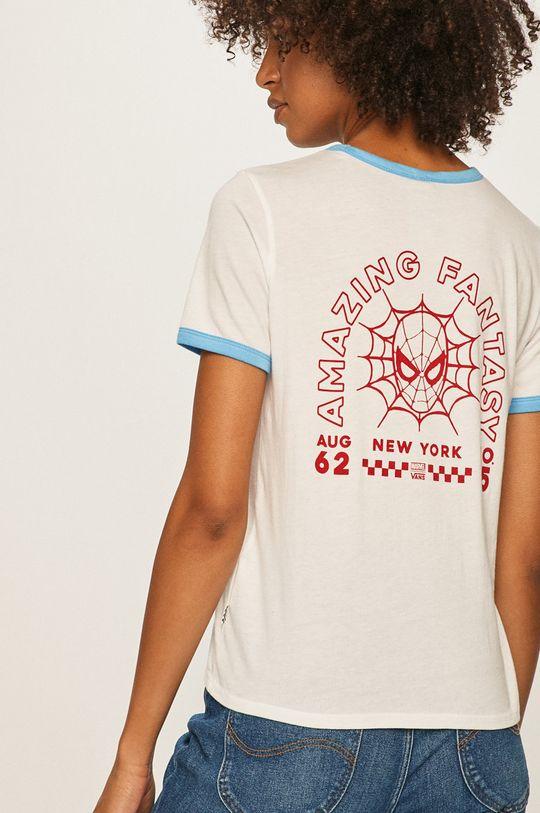 biela Vans - Tričko x Marvel