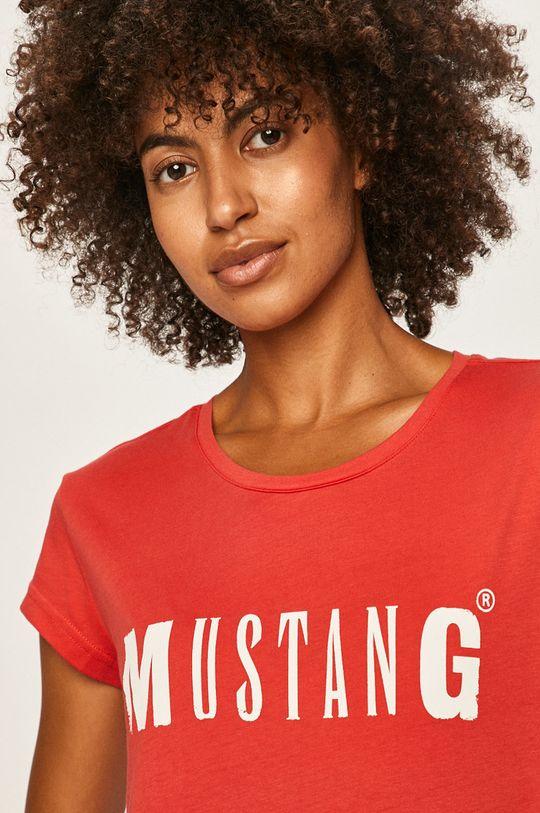 červená Mustang - Tričko Dámsky