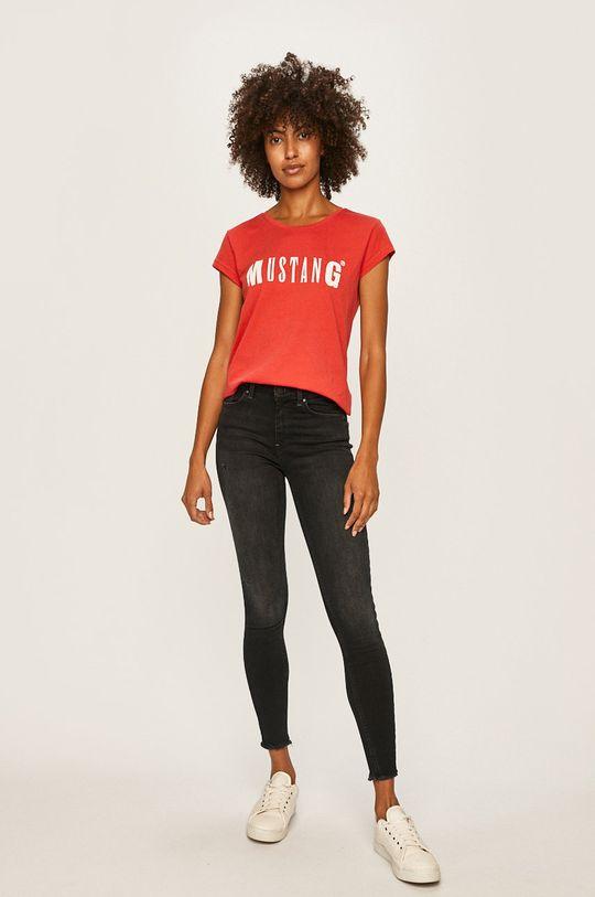Mustang - Tričko červená