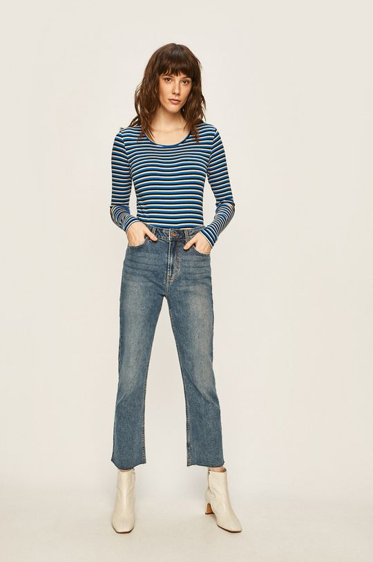 Only - Tričko s dlouhým rukávem modrá