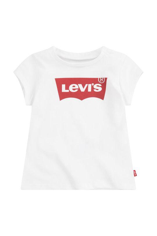 biały Levi's - T-shirt dziecięcy 86 cm Dziewczęcy
