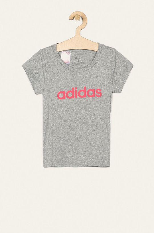 svetlosivá adidas - Detské tričko 128-170 cm Dievčenský