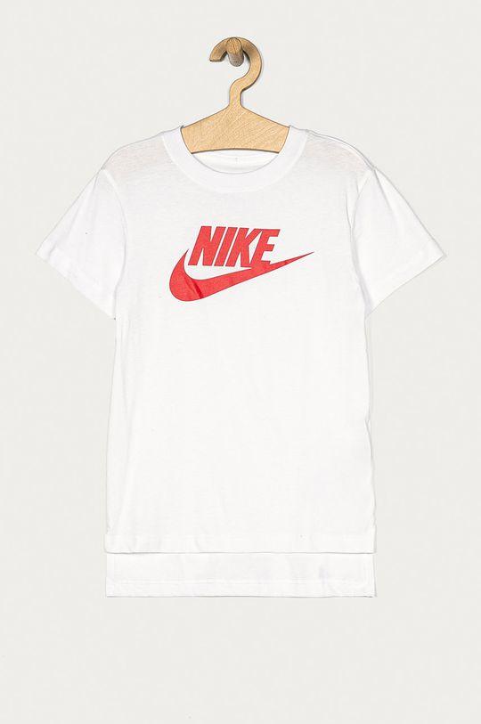 alb Nike Kids - Tricou copii 122-166 cm De fete