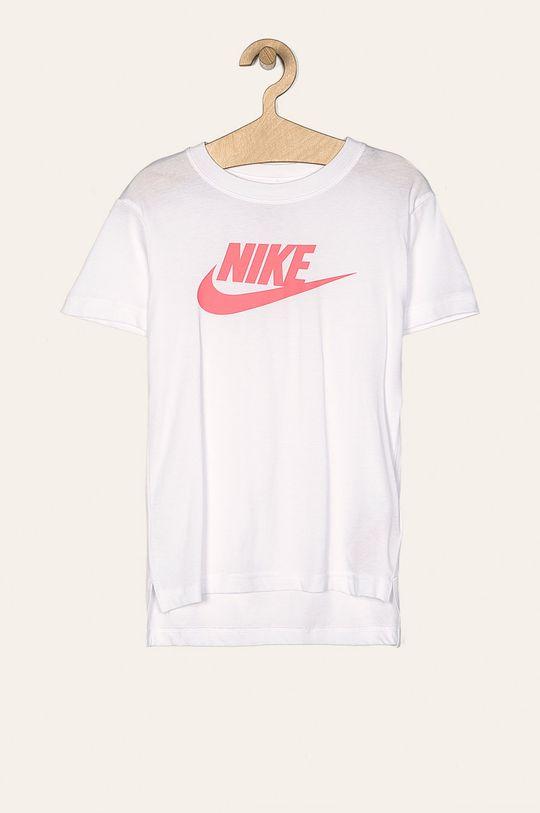 biela Nike Kids - Detské tričko 122-166 cm Dievčenský