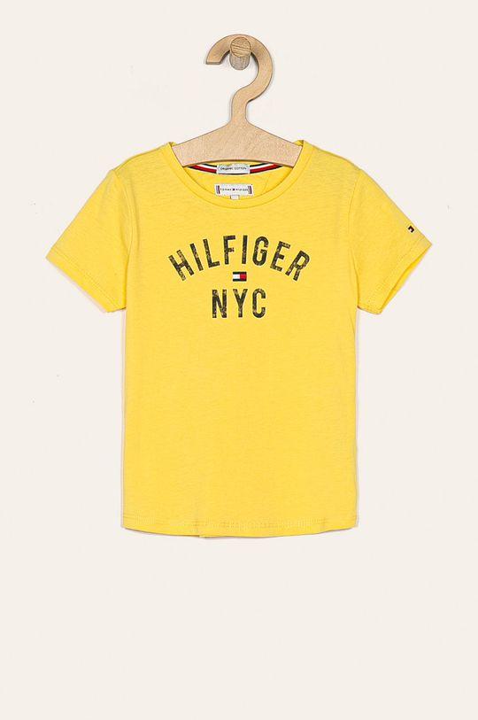 žltá Tommy Hilfiger - Detské tričko 74-176 cm Dievčenský