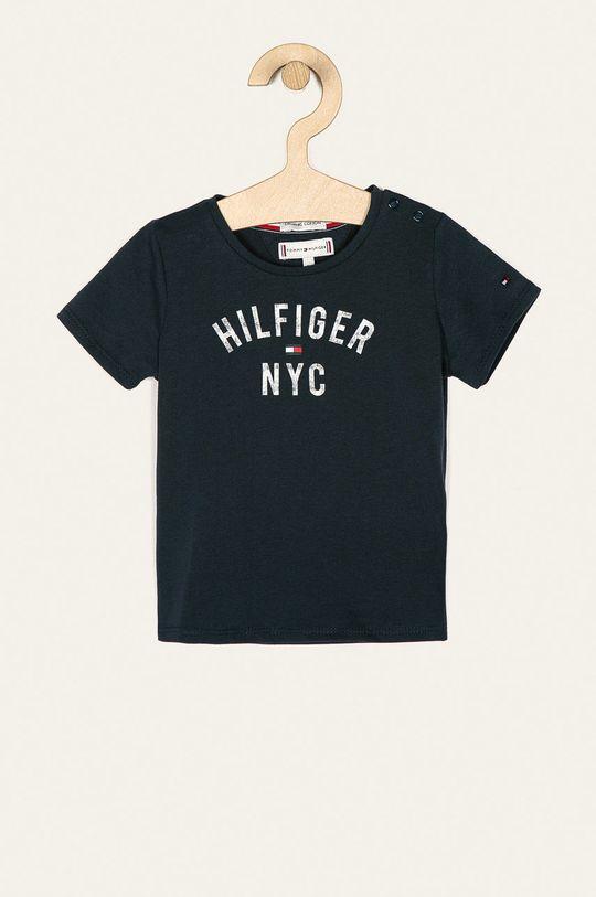 tmavomodrá Tommy Hilfiger - Detské tričko 74-176 cm Dievčenský