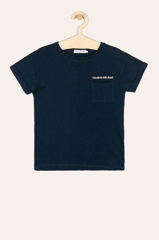 tmavomodrá Calvin Klein Jeans - Detské tričko 128-176 cm Dievčenský
