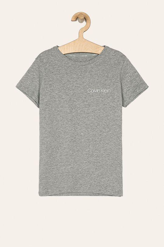 Calvin Klein Underwear - Detské tričko 128-176 cm (2 pak) svetlosivá