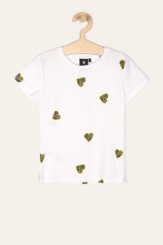 biela G-Star Raw - Detské tričko 128-164 cm Dievčenský
