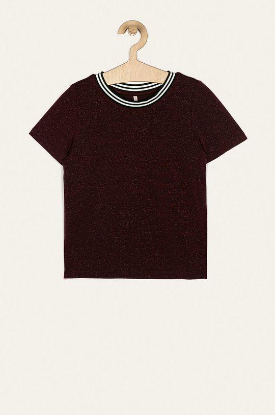 mahagónová Kids Only - Detské tričko 122-164 cm Dievčenský