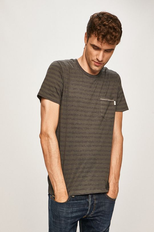 sivá Produkt by Jack & Jones - Pánske tričko Pánsky
