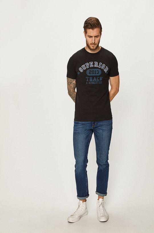 Produkt by Jack & Jones - Pánske tričko čierna