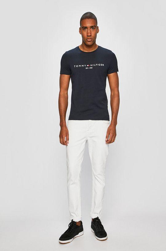 Tommy Hilfiger - Pánske tričko tmavomodrá