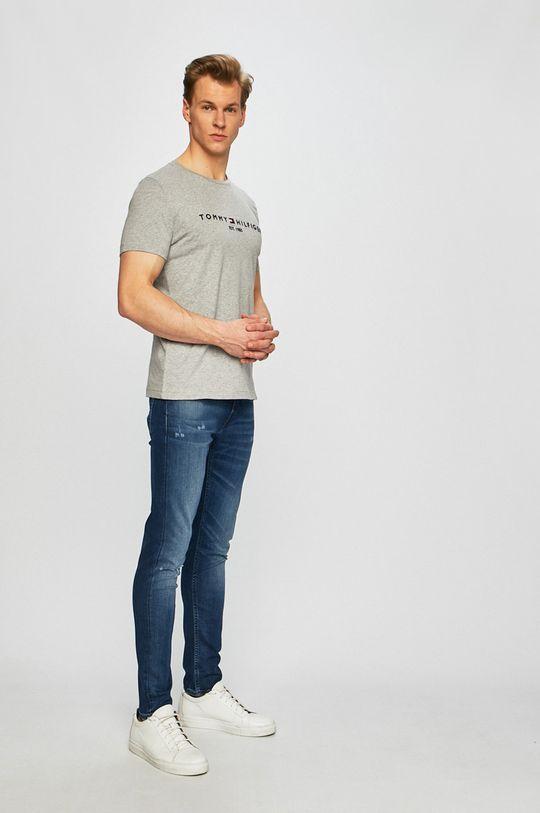 Tommy Hilfiger - Pánske tričko sivá