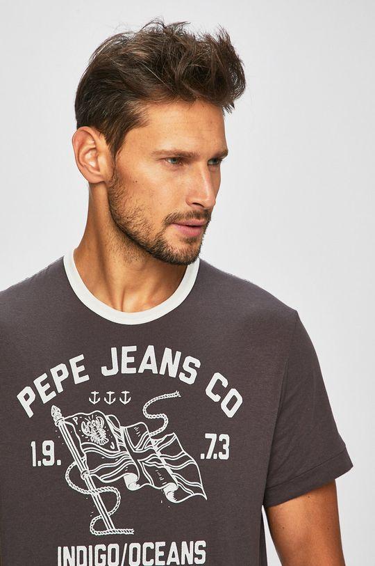 šedá Pepe Jeans - Tričko