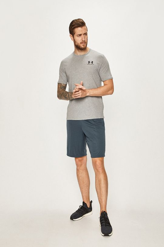 Under Armour - T-shirt jasny szary