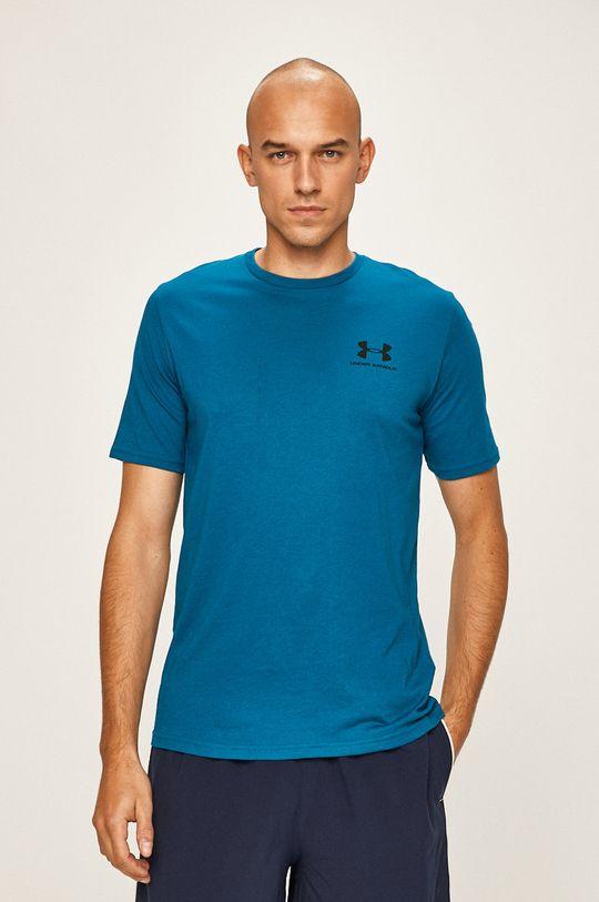 modrá Under Armour - Pánske tričko Pánsky