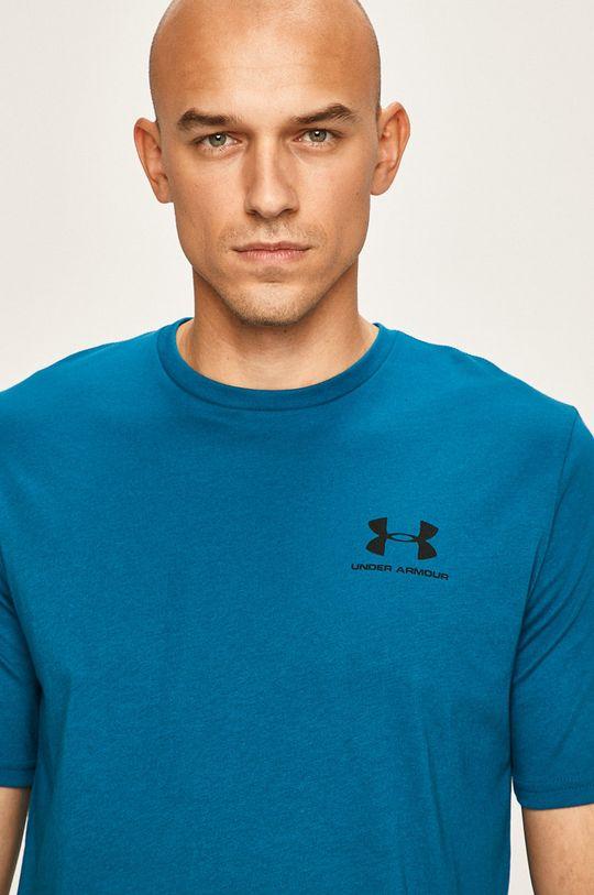 modrá Under Armour - Pánske tričko