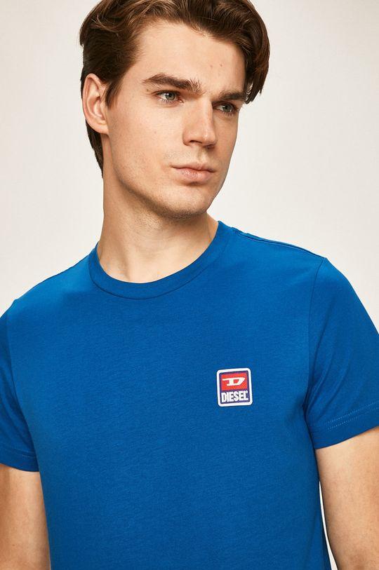 modrá Diesel - Tričko Pánský