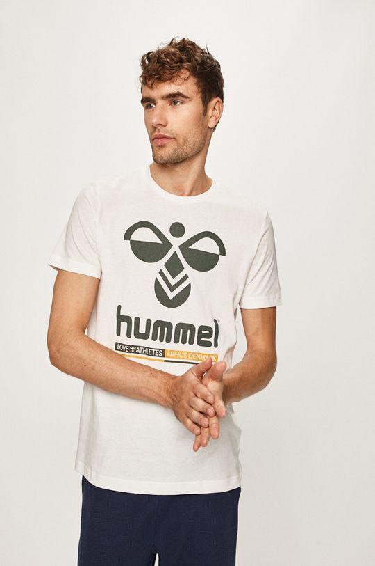 alb Hummel - Tricou De bărbați