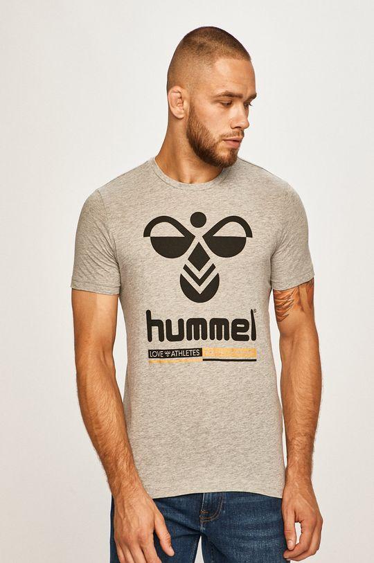 sivá Hummel - Pánske tričko Pánsky