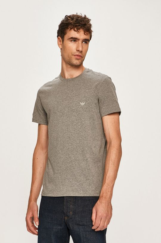 čierna Emporio Armani - Pánske tričko (2 pak) Pánsky