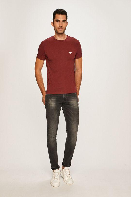 Emporio Armani - Pánske tričko (2 pak)  95% Bavlna, 5% Elastan